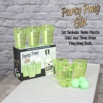 Party Pong Gin Drinking Game